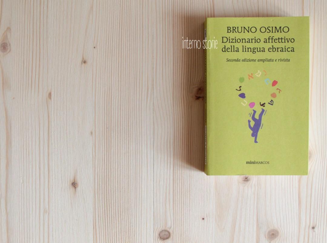 Dizionario affettivo della lingua ebraica di Bruno Osimo - interno storie