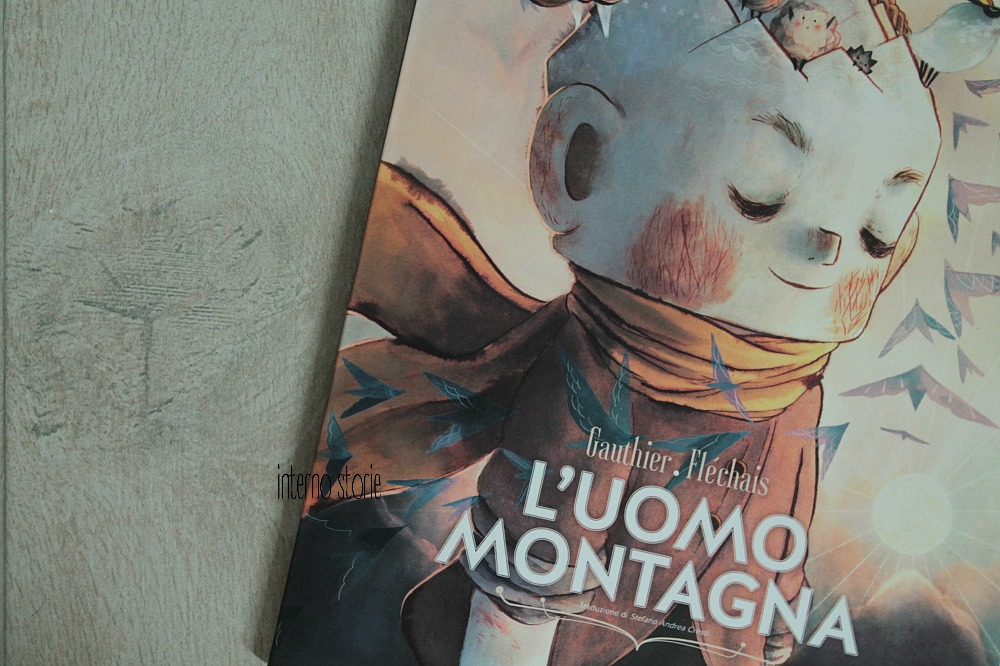 I piccolini - L'uomo montagna di Séverine Gauthier e Amélie Fléchais - interno storie