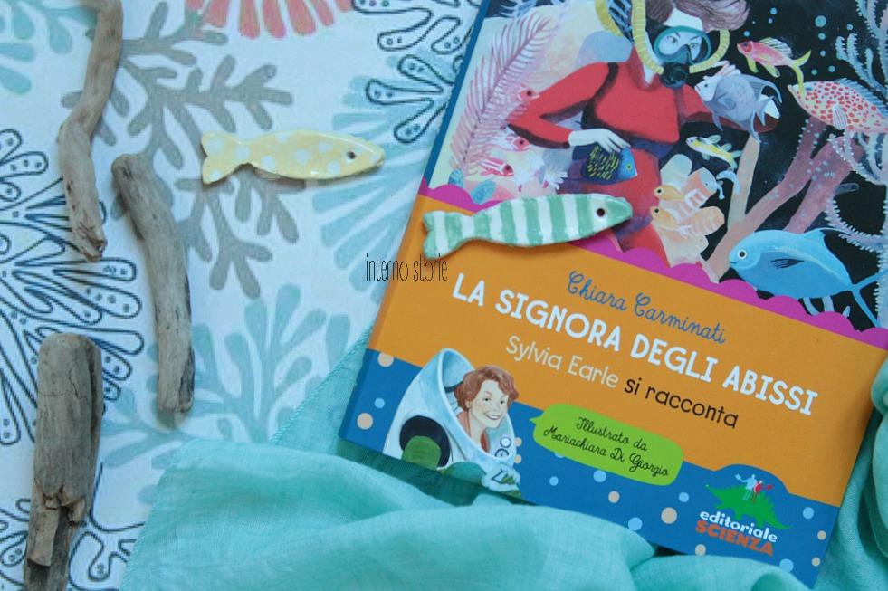 I piccolini - La signora degli abissi di Chiara Carminati - interno storie