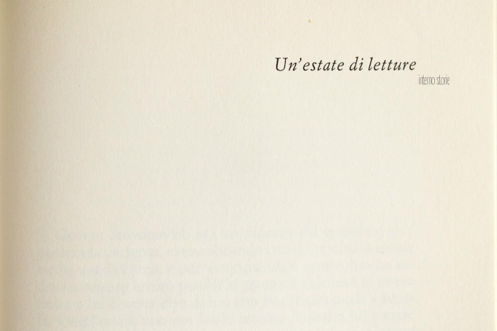 Un'estate di letture - interno storie