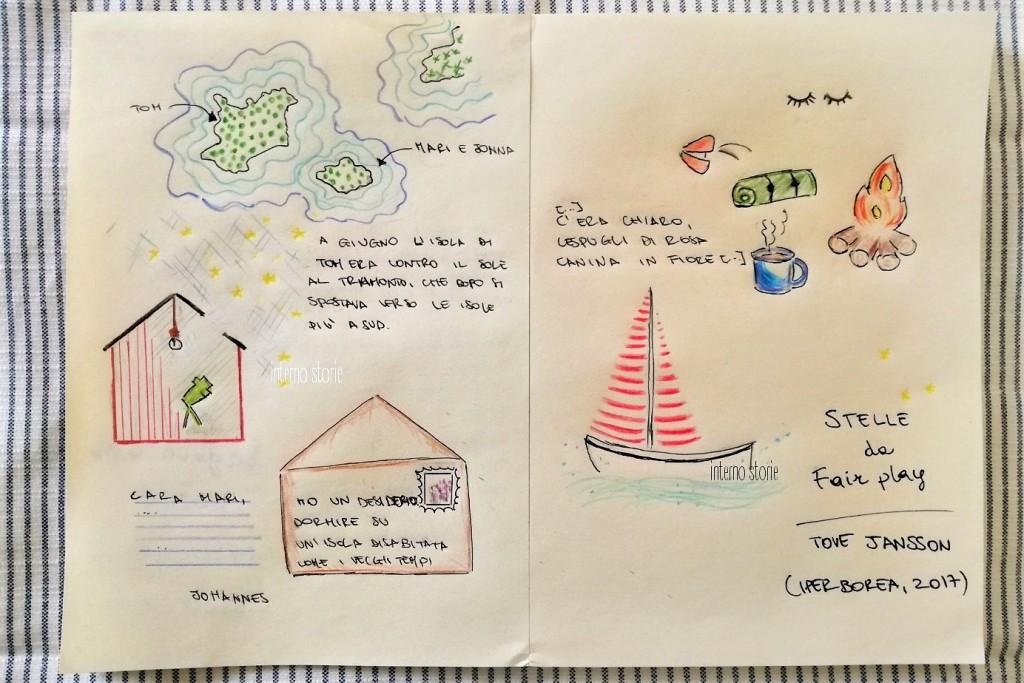 Ti illustro un racconto - Stelle di Tove Jansson interno storie (2)