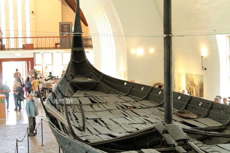 Altri settentrioni - Diario di bordo Museo delle navi vichinghe - interno storie