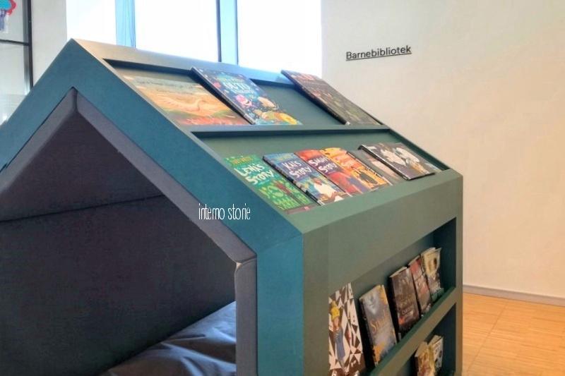Andar per biblioteche Norvegia 4- interno storie