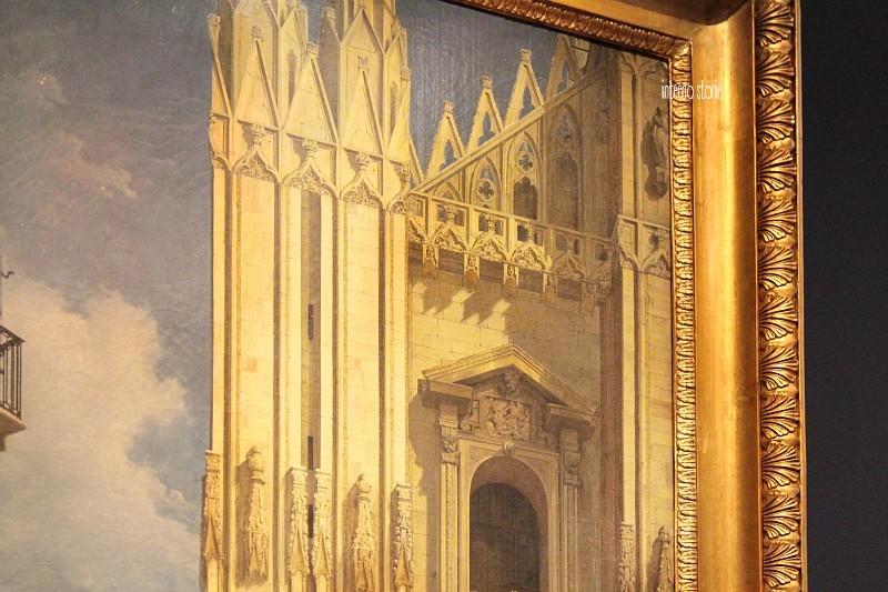 Milano romantica, il racconto in una mostra - Duomo - interno storie