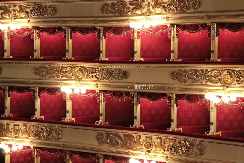 Milano romantica, il racconto in una mostra - Teatro alla Scala 2 - interno storie