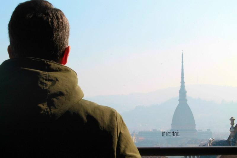 Diario di bordo - Il cielo su Torino azzurrissimo - Mole Antonellliana - interno storie