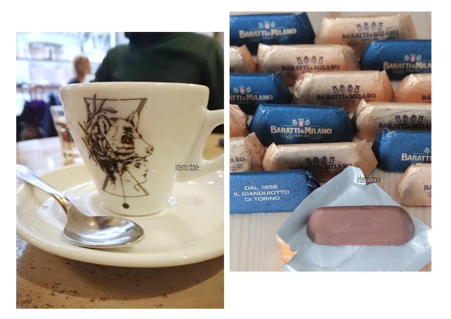 Diario di bordo - Il cielo su Torino azzurrissimo - Orso laboratorio caffe - interno storie