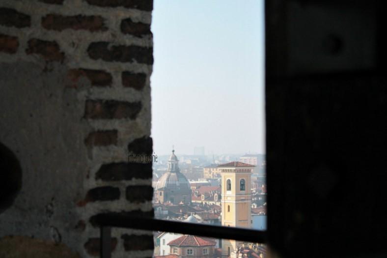 Diario di bordo - Il cielo su Torino azzurrissimo - Torre del Duomo - interno storie
