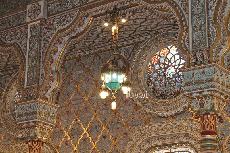 Diario di bordo - Porto è un azulejo Coimbra è bianca - Sala araba - interno storie