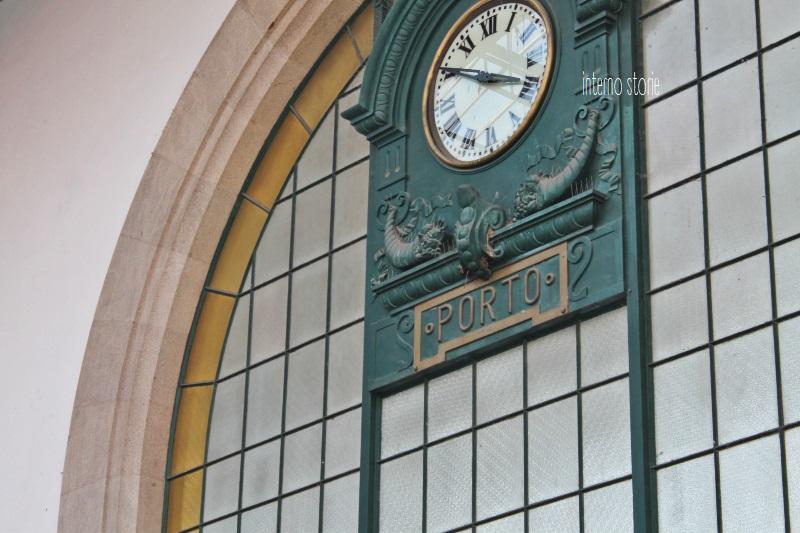 Diario di bordo - Porto è un azulejo Coimbra è bianca - Sao Bento 1 - interno storie