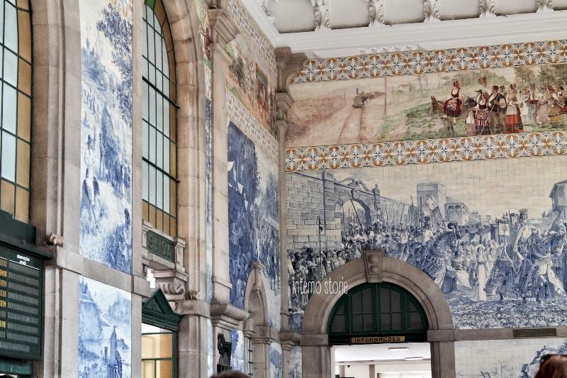 Diario di bordo - Porto è un azulejo Coimbra è bianca - Sao Bento - interno storie