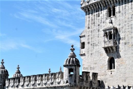 Diario di bordo - Sintra, l'Atlantico e Lisbona tra antico e contemporaneo - Torre di Belem - interno storie