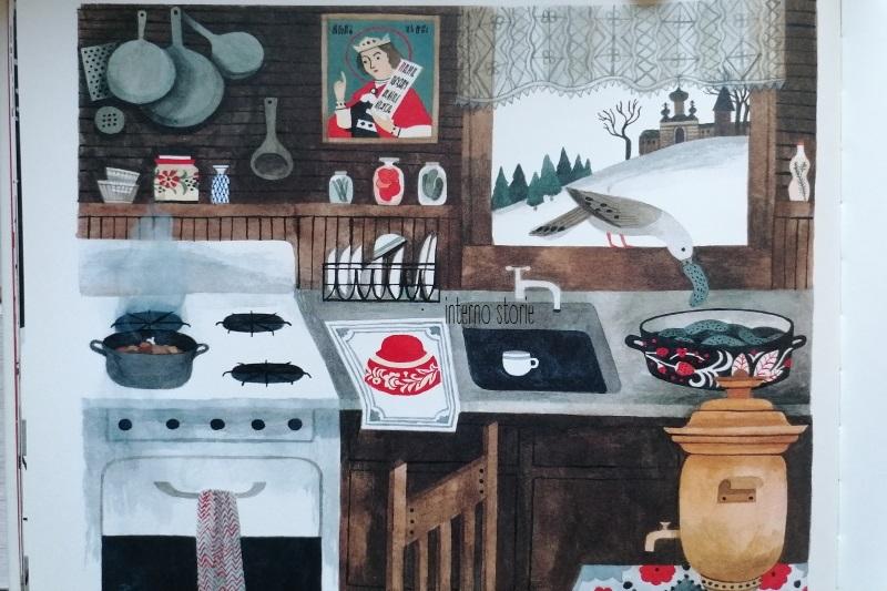 Matite - La casa - Carson Ellis - interno storie