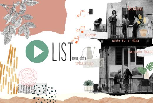 Playlist di aprile -tutto qui - interno storie