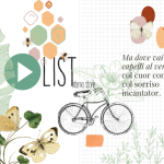 Playlist di maggio, bicicletta e fiori