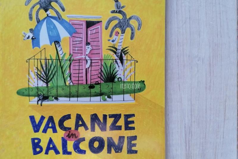 Matite - Le vacanze - Vacanze in balcone - interno storie